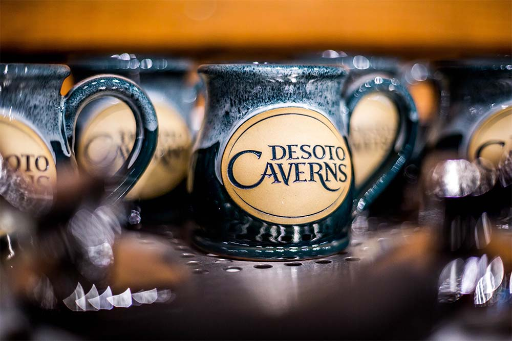 Cool off with some sweet treats and refreshing drinks at DeSoto Cavern's Cave Cafe.