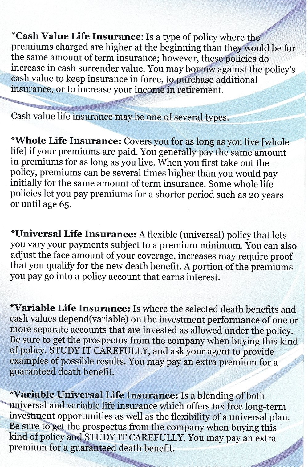 What Type Of Life Ins Should I Buy Achieve Financial Success – Life Insurance Needs Analysis Worksheet
