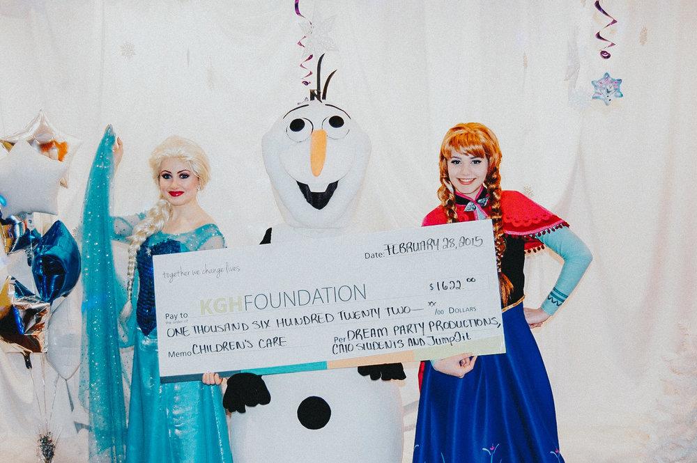 PROJECT SNOW QUEEN - Frozen MEET + GREET KELOWNA GENERAL HOSPITAL CHILDREN'S CARE FUNDRAISER