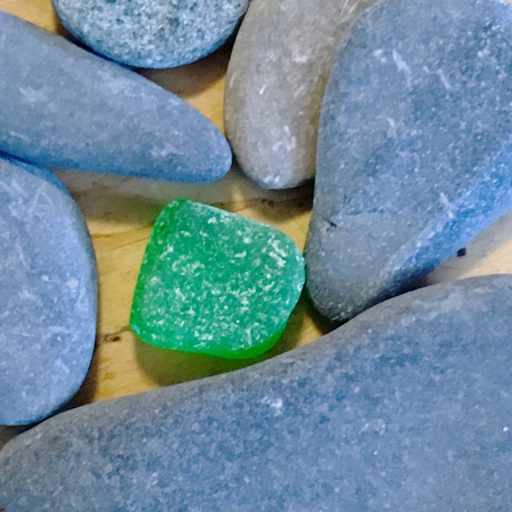 Sea Glass and Stones, 2.23.17 - Stephen M. Frey