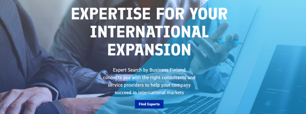 Photo: Business Finland Website