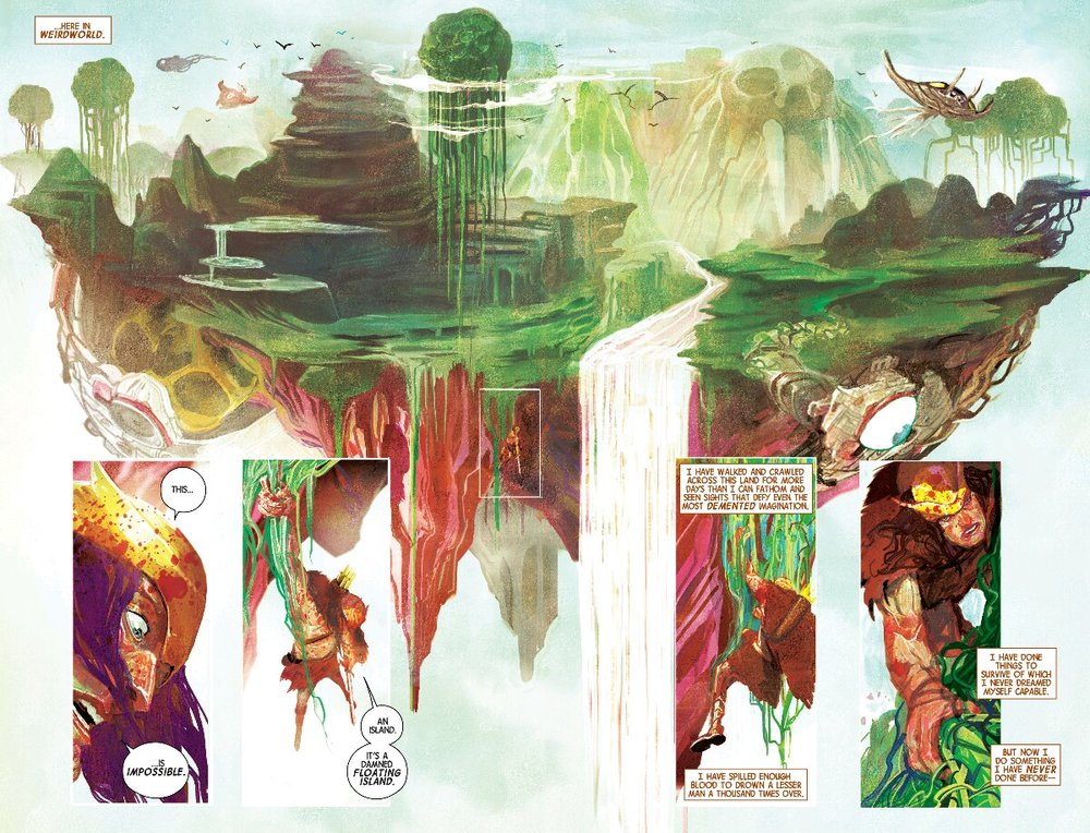 From Weirdworld #1