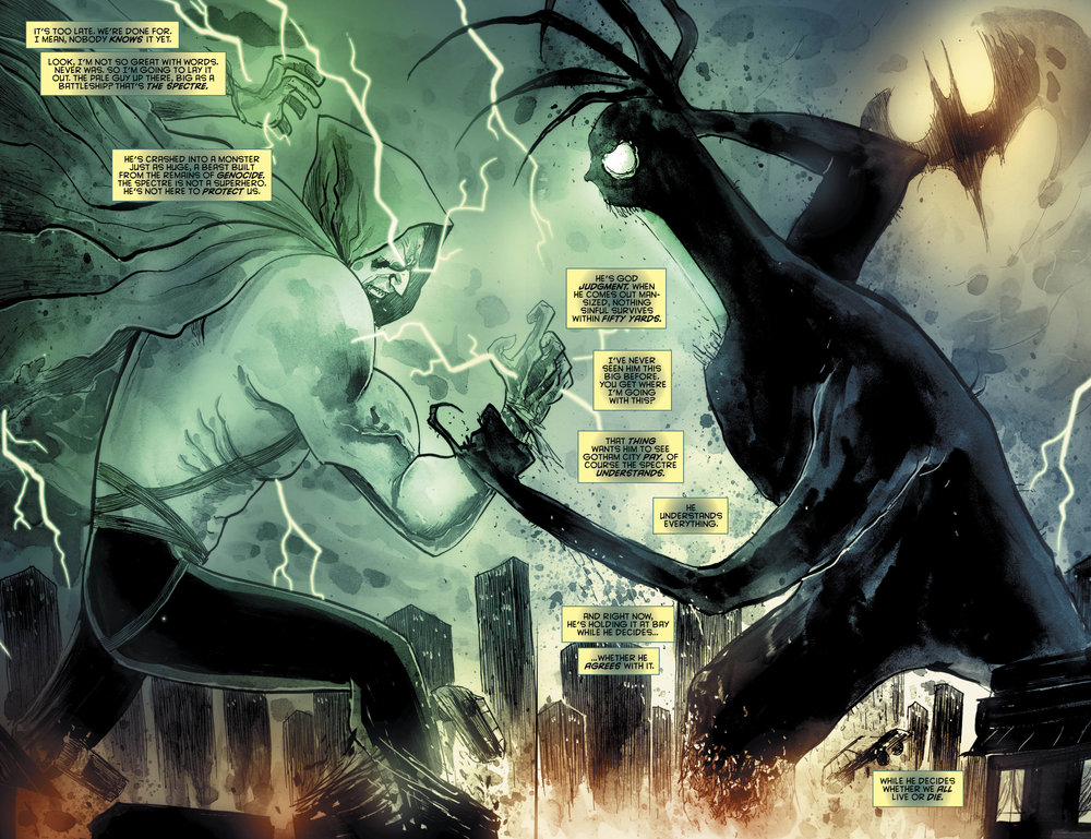 Templesmith and Fawkes just did some really goddamned neat stuff with  Gotham By Midnight .
