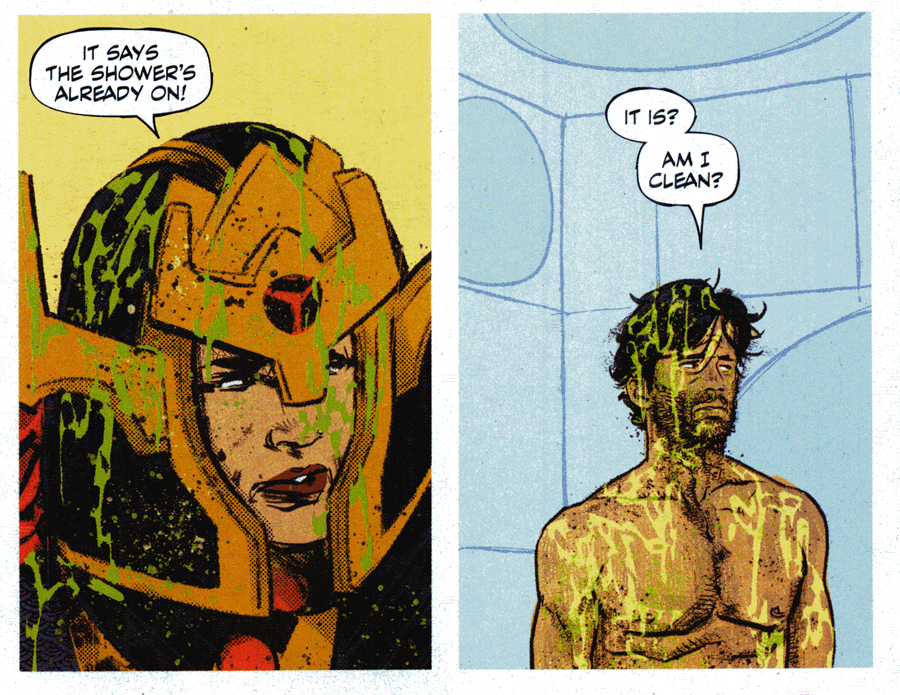 Mister Miracle , art by Mitch Gerads and writing by Tom King