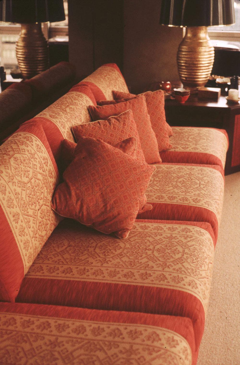 Sumbawa patterns on sofas
