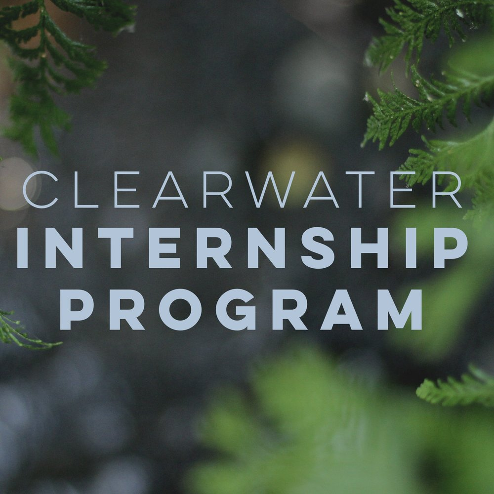 Clearwater Internship program 2018-2019