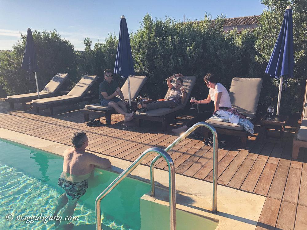 Poolside, La Foresteria.