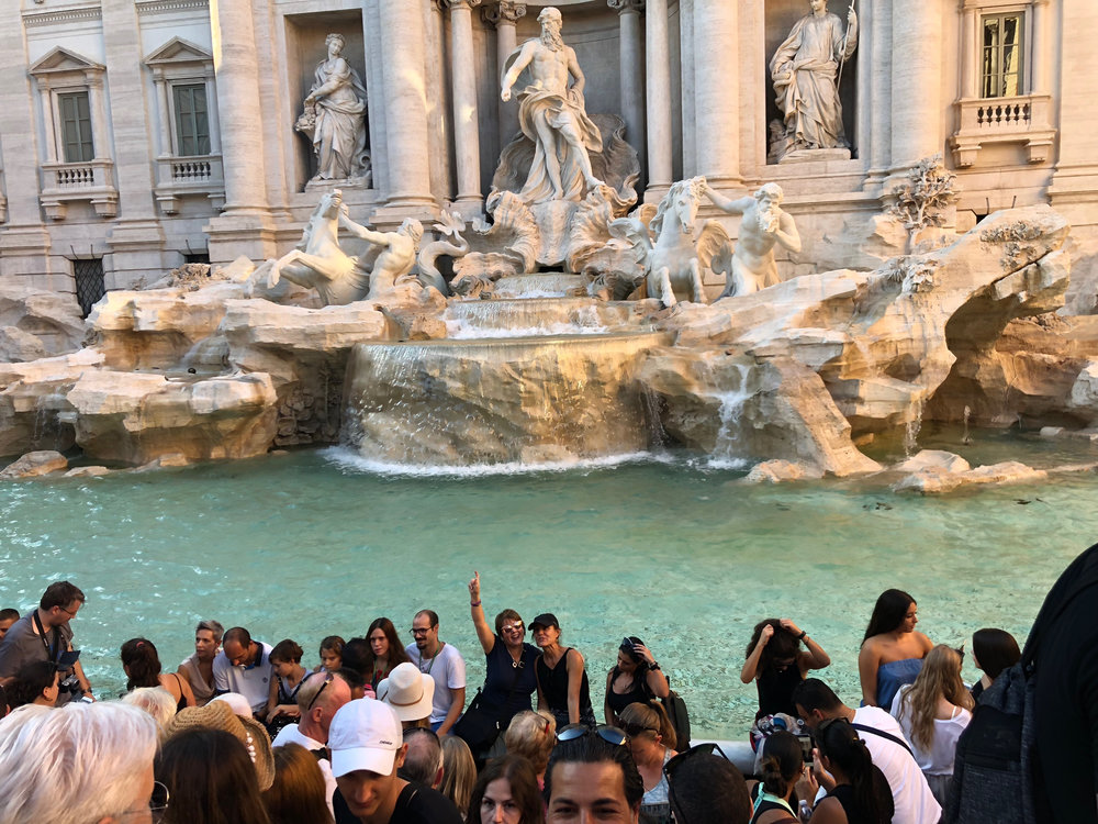 trevi fountain, THE LARGEST (AND ARGUABLY THE MOST BEAUTIFUL) FOUNTAIN IN rome