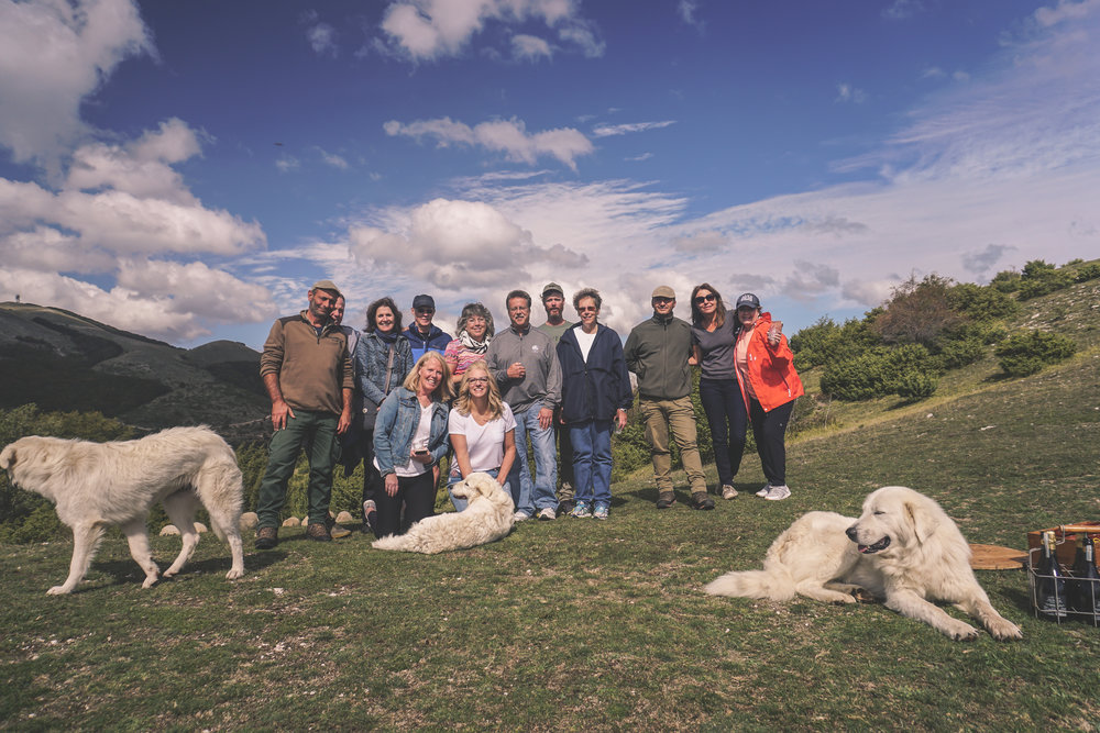 we enjoyed a beautiful (and successful) day of truffle hunting