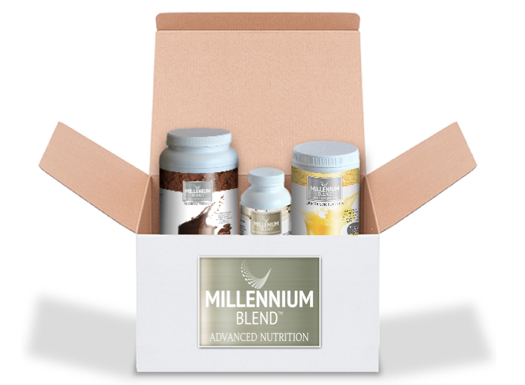 Millennium Blend weight loss program protein shakes
