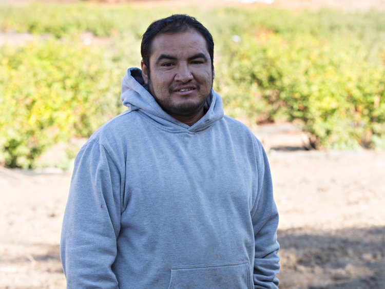 "Jose Angel ""I am very honored to be apart of Fairfield Farms. My 3 children, beautiful wife and I live on the farm. They are the reason I work really hard. I am blessed to be part of this team."" Since 2005"
