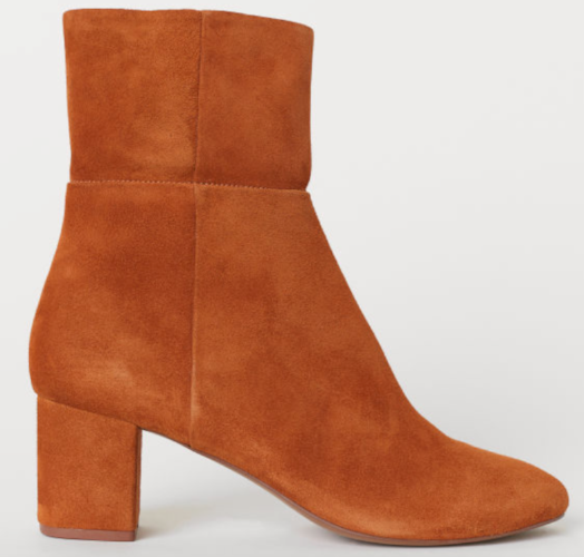 Ankle Boots - Light Brown ($69.99) H&M