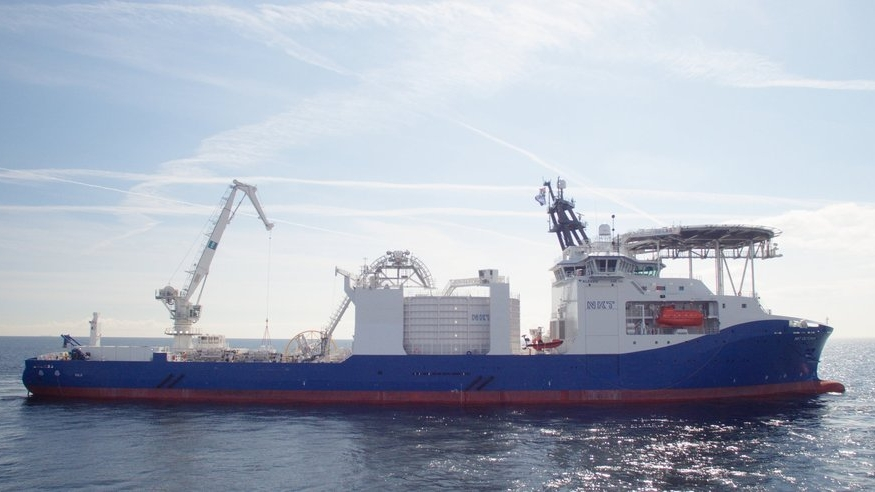 NKT Victoria - Built by Kleven Verft. Design SALT 306.Ship of the year 2017NKT Victoria is one of the world's most advanced cable carriers.Matre has supplied with DIFFS.