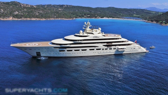 SASSI YACHT - Sassi is a 146 m luxury motor yacht. She was built by Fr. Lürssen Werft Gmbh & Co. KG in 2017.Matre has delivered DIFFS.
