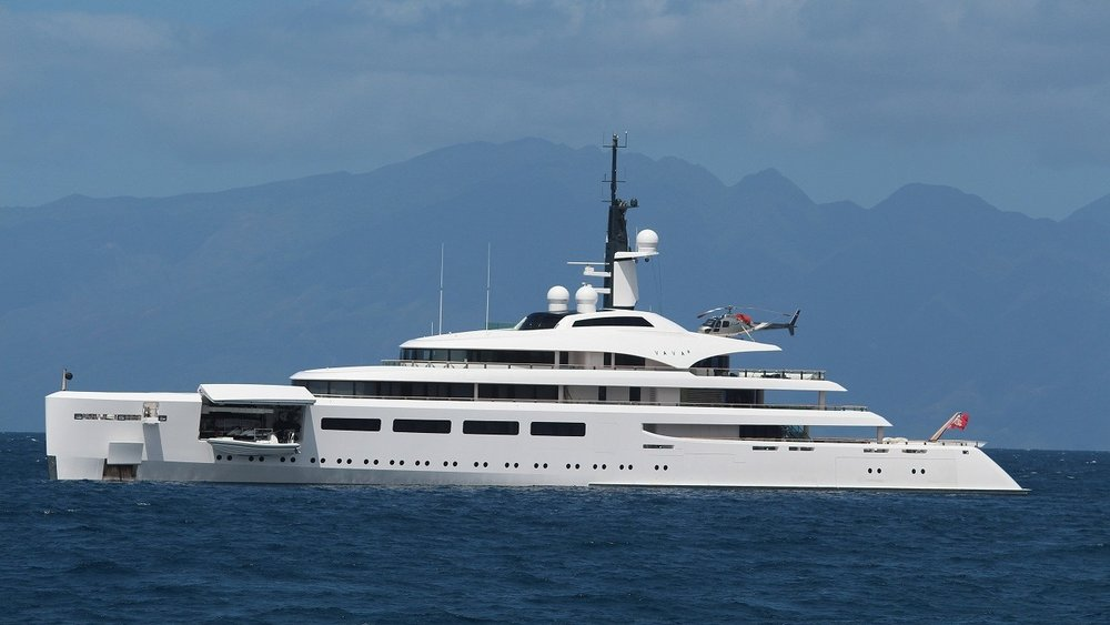 VAVA II - MY Vava II is the 97-metre superyacht. She was built bu Devenport Yacht in 2007.Matre has delivered DIFFS.