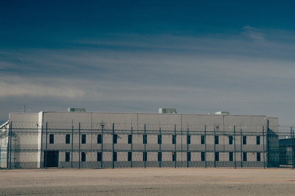 Eloy Detention Center.  Photo by Imani Lindsey