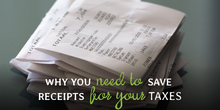 why you need to save receipts for your taxes bear numbers bookkeeping
