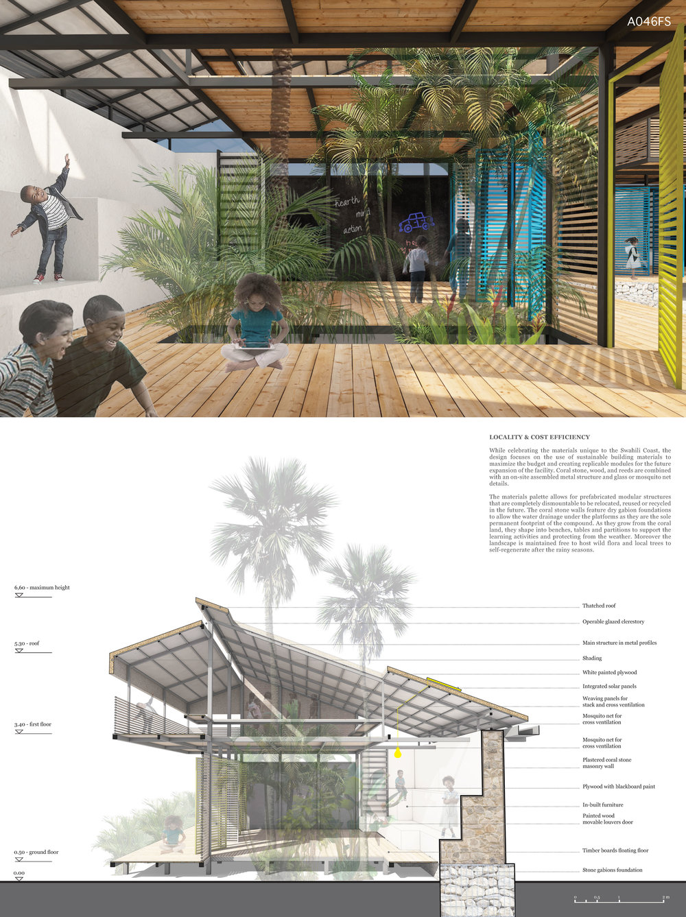 TROPICAL COURTYARDS: STIMULATION BY DESIGN AND ENVIRONMENTAL RESPONSE
