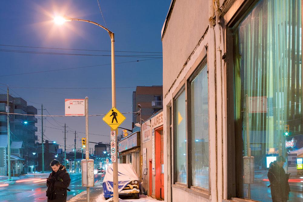 Dusk, Bronson Avenue net.jpg