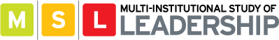 Multi-Institutional Study of Leadership