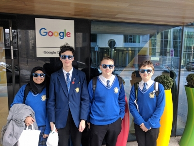 Digital Champions Visit Google.  (Click on the image to view a slideshow.)