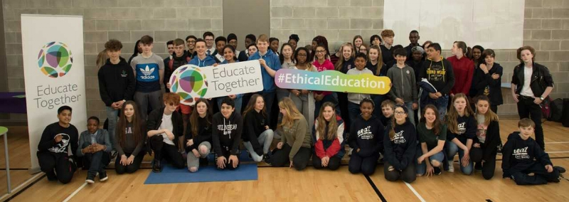 Please click on the image to view a brief slideshow.   The photos show our TY Ethical Leaders team. The images were taken during the Educate Together school's ethical education showcase which took place in Hansfield Educate Together. our TY students were presenting their project concerning 'Ethical Potholes'.
