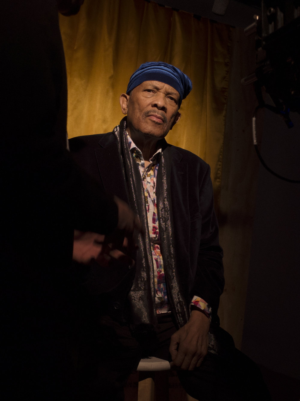 Roy Ayers for i-D & Marc Jacobs  A-Z of Music