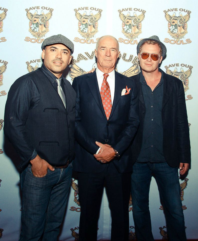 M Sanchez, Phil Barnes, Richard Barnes.jpg