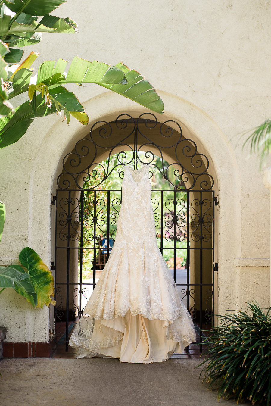Wedding Dress in Los Angeles River Center