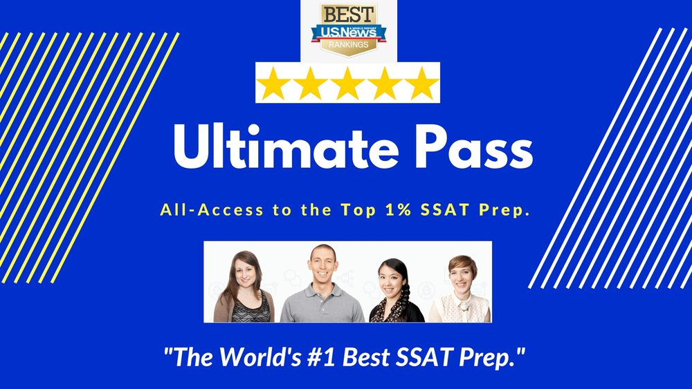 SSAT Prep Review.  The World's Best Course for SSAT.