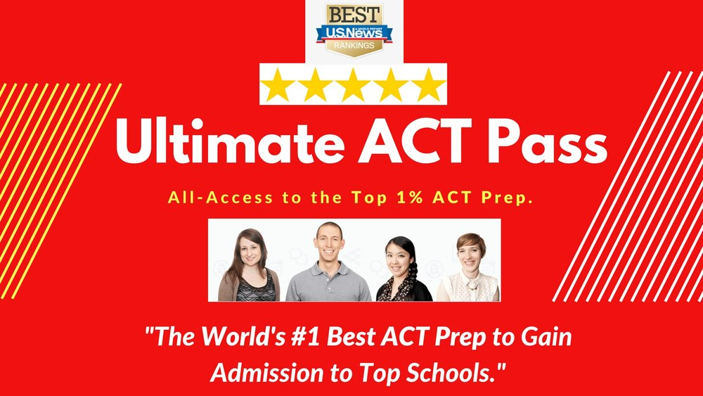"""Best ACT Exam Prep"" by U.S. News"