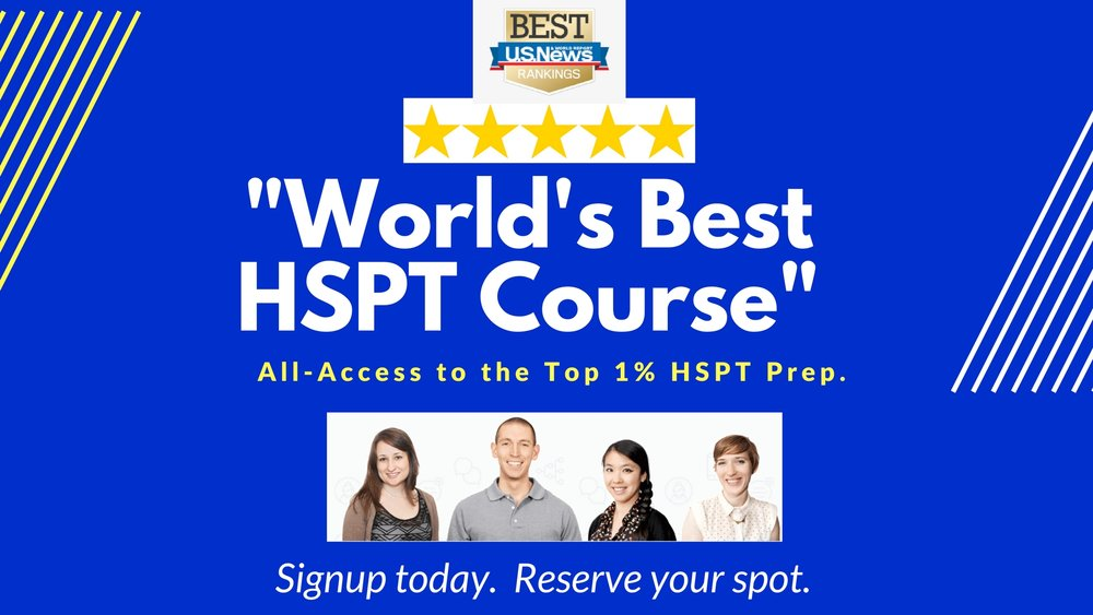 The Best HSPT Prep Course for Catholic School Admissions.