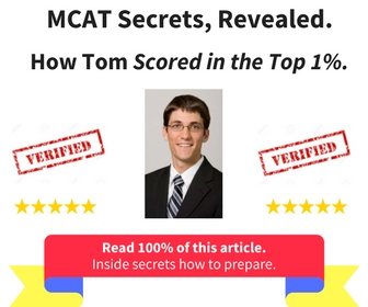 The best part to this story? It's true.   Read the entire story to find out how Tom mastered his MCAT exam.