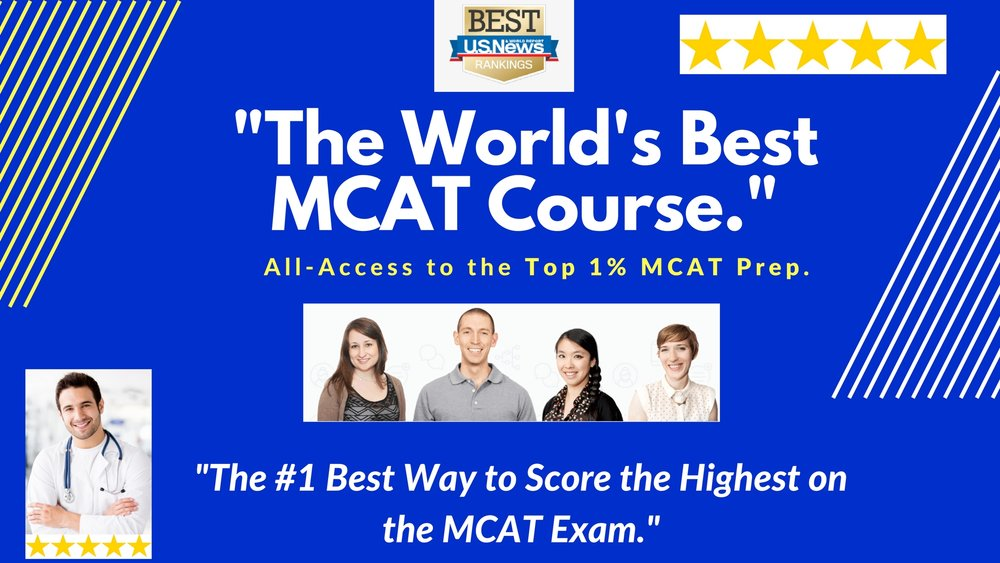 Top Ranked MCAT Prep Course for Pre-Med Students.