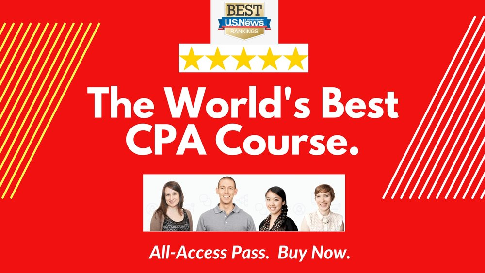 CPA Exam review by the experts at top accounting firms.