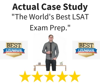 """Best LSAT Prep Course"" as ranked by U.S. News."