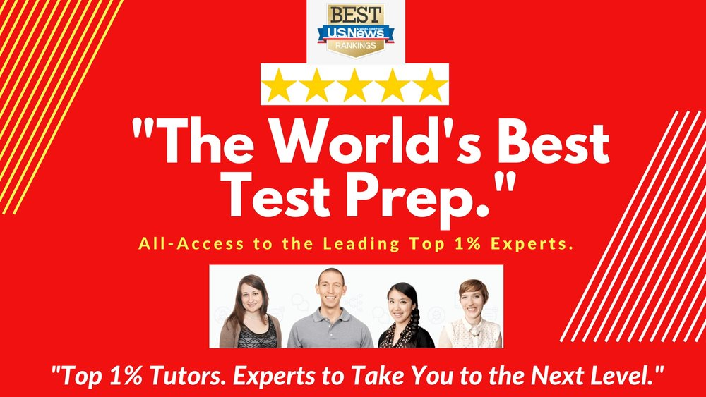 """World's Best Test Prep, Tutoring, and Admissions Experts."""