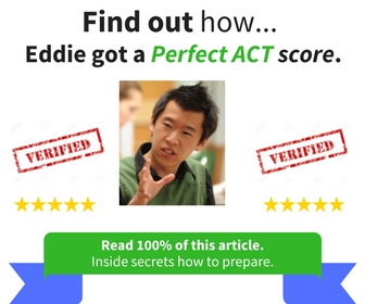 ACT Test Preparation: Full Information and Link to Signup for ACT Prep Course.