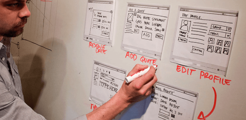 Vail Networks Review - Wireframes and Design Process