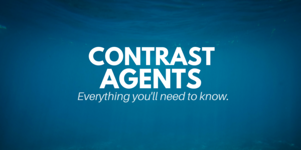 what is a contrast agent, ct scan contrast
