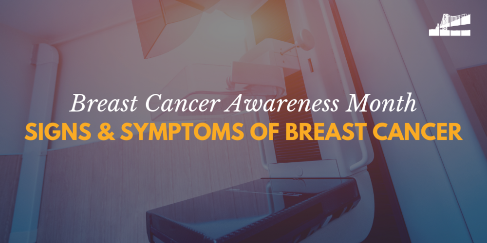 signs of breast cancer, symptoms of breast cancer, breast cancer awareness month