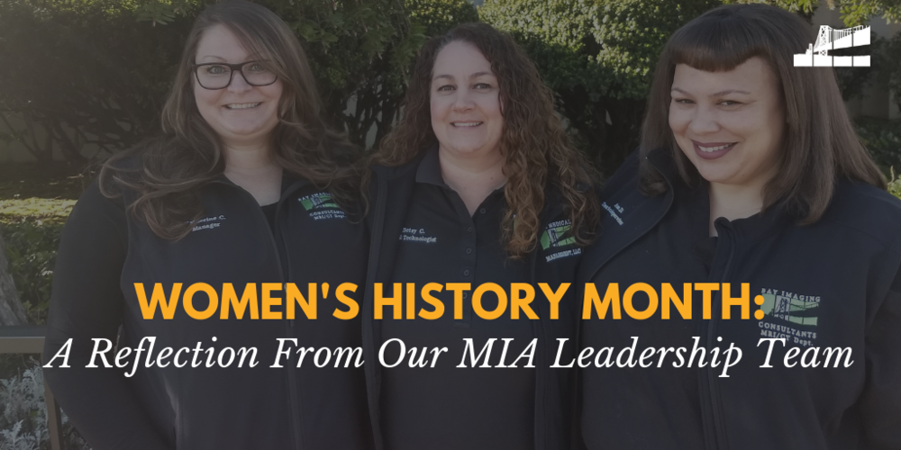 womens history month, bicrad imaging, bicrad radiology, magnetic imaging affiliates