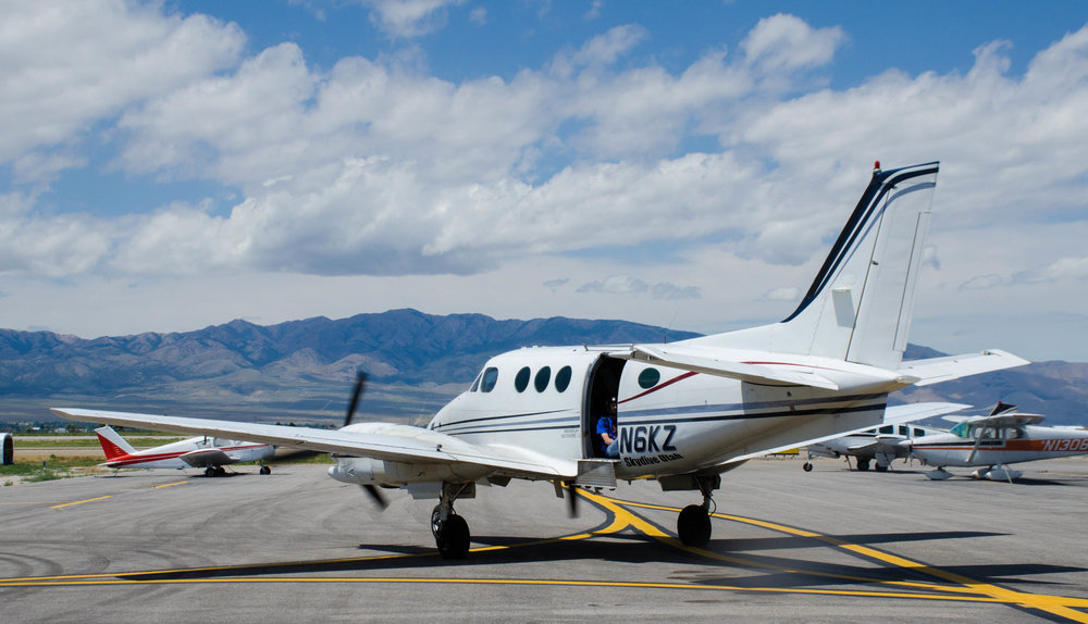 Skydive Utah's Super King Air