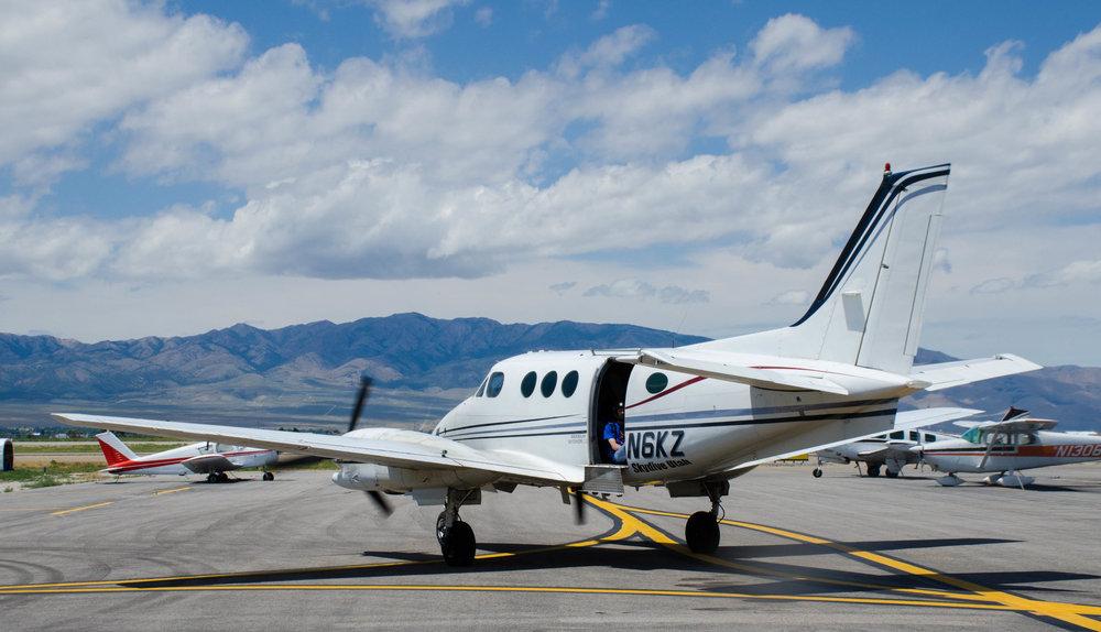 Skydive Utah's Super King Air