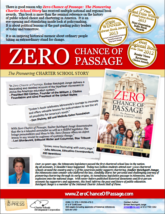 Zero Chance of Passage Promotional Flyer