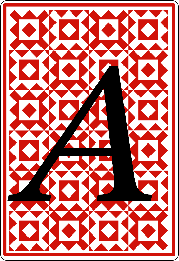 Quantum Playing Card A