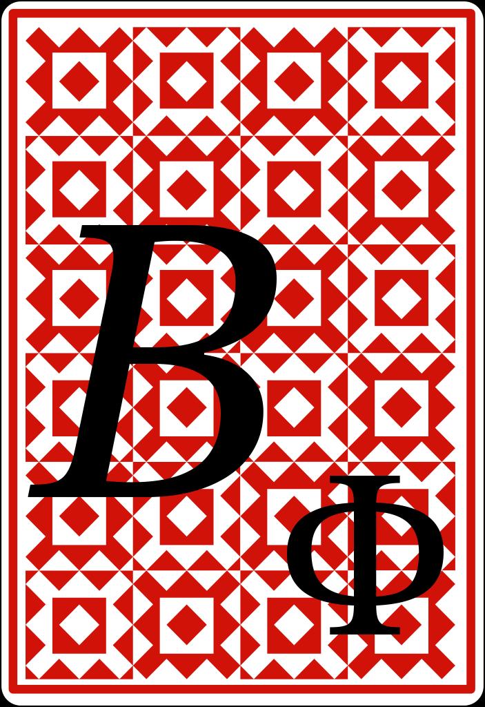 Quantum Playing Card B Phi