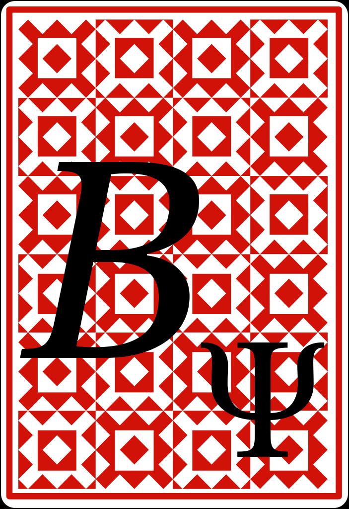 Quantum Playing Card B Psi