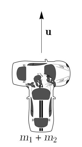 Figure 2: Immediately after the collision, e duobus unum.