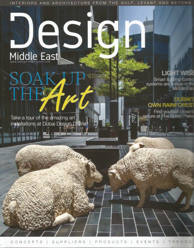 """<span style=""""font-family:Helvetica;letter-spacing:2px;font-size:10px;color:rgba(28,28,28,0.8)""""><b>DESIGN MIDDLE EAST</b></span><br><i>september 2017</i>"""